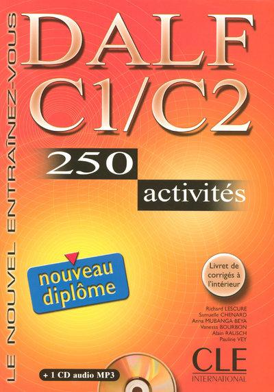 NOUVEAU DALF C1/C2 + CD AUDIO