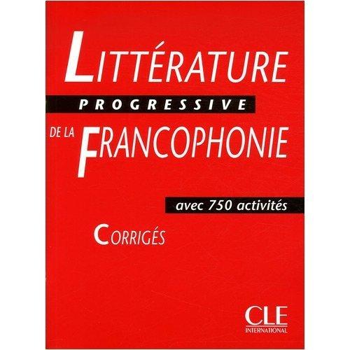 CORR LITTERATURE PROGR FRANCO