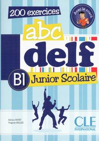 ABC DELF JUNIOR SCOLAIRE NIVEAU B1 + DVD-ROMO