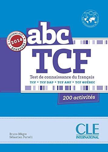 ABC TCF (TEST DE CONNAISSANCE DU FRANCAIS) + LIVRET + CD AUDIO NE