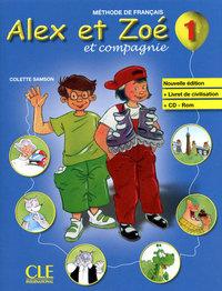 ALEX ET ZOE1 EL+LIVR CIVILI+CD