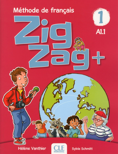 ZIGZAG PLUS NIVEAU 1 - ELEVE + CD AUDIO