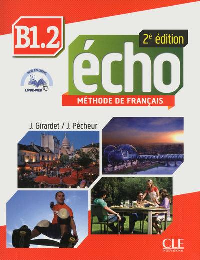ECHO B1.2 2ED ELEVE+DVD+LIVRET