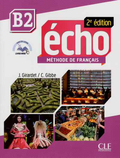 ECHO B2 ELEVE + PORTFOLIO+ DVD