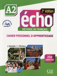 ECHO A2 CAHIER D'APPRENTISSAGE