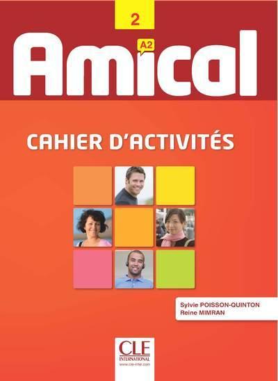 AMICAL A2 CAHIER D'ACTIVITES +