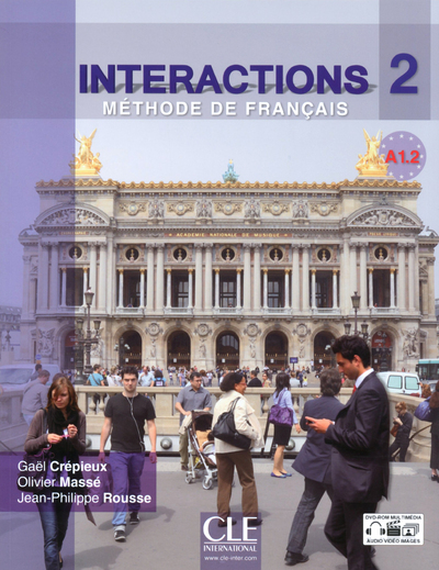 INTERACTION A1.2 ELEVE + DVD