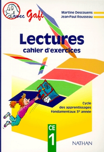 GAFI CE1 EXERCICES LECTURE