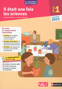 IL ETAIT UNE FOIS LES SCIENCES CYCLE 1 2015