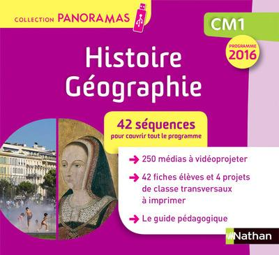 RAN PANORAMA - HISTOIRE GEOGRAPHIE - CLE - CM1 2018