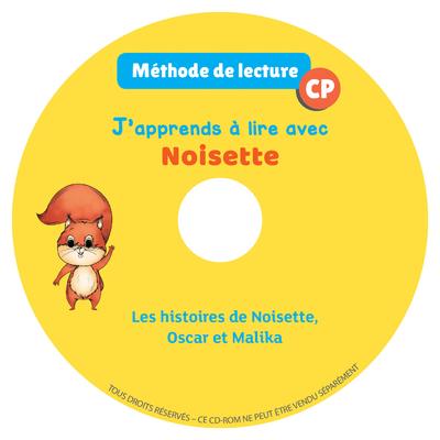 J'APPRENDS A LIRE AVEC NOISETTE - CD AUDIO CP 2018