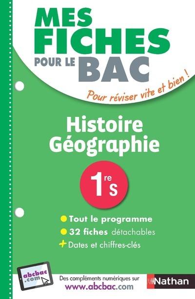 MES FICHES ABC DU BAC HISTOIRE GEOGRAPHIE 1ERE S