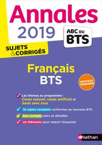 ABC 000000 ANNALES BTS 2019 FRANCAIS