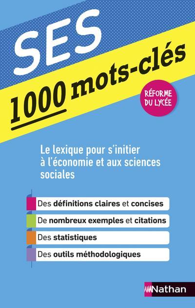 1000 MOTS CLES - SES