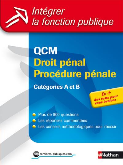 QCM DROIT PENAL/PROC PENALE 33