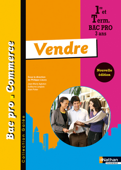 VENDRE BAC PRO COMMERCE GALEE