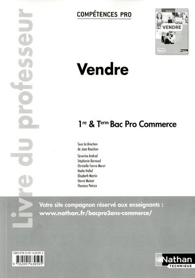 VENDRE 1RE/TER BPRO COMMERCE