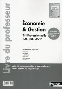 ECONOMIE & GESTION TERMINALE PROFESSIONNELLE BAC PRO ASSP 2016 - LIVRE DU PROFESSEUR