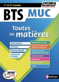 MANAGEMENT DES UNITES COMMERCIALES BTS MUC 1/2  TOUTES LES MATIE