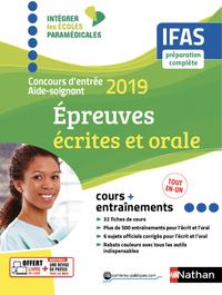 CONCOURS D'ENTREE AIDE-SOIGNANT 2019 - IFAS - EPREUVES ECRITES ET ORALE - (IEP) - 2018