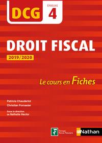 EXCO000004 DROIT FISCAL 2019/2020  DCG  EPREUVE 4  LE COURS EN