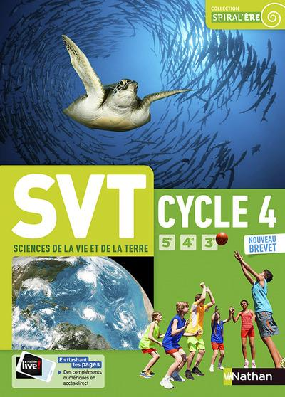 SCIENCES DE LA VIE ET DE LA TERRE - CYCLE 4 - MANUEL ELEVE GRAND FORMAT - 2017