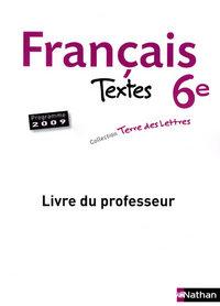 TERRE LETTRES FRANCAIS TEXT 6E