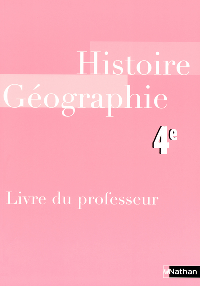 HISTOIRE-GEOGRAPHIE 4E PROF 06
