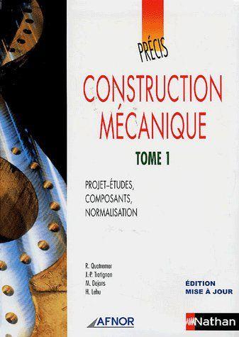 AFNOR PRECIS CONSTRUCT MECA T1