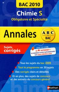 ANNAL BAC 2010 CHIMIE S OBLI
