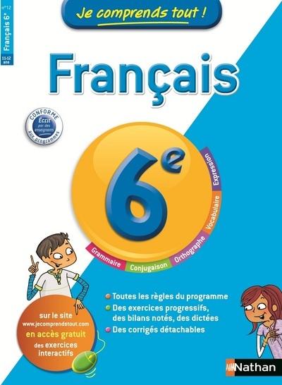 JE COMPRENDS TOUT FRANCAIS 6EM