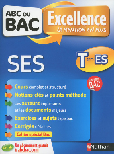 ABC BAC EXCELLENCE SES TERM ES