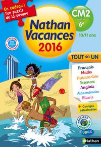 NATHAN VACANCES 2016 TOUT EN UN DU CM2 VERS 6E 10/11 ANS