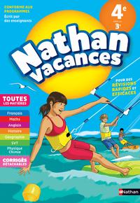 NATHAN VACANCES 2018 COLLEGE TOUTES LES MATIERES 4E VERS LA 3E