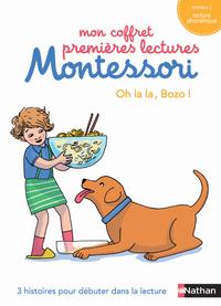 MON COFFRET PREMIERES LECTURES MONTESSORI : OH LA LA, BOZO!