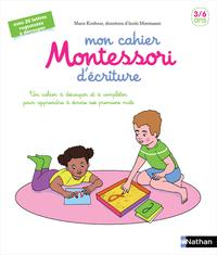 MON CAHIER MONTESSORI D'ECRITURE