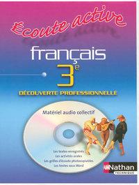 ECOUTE ACTIVE FRANCAIS 3E CD