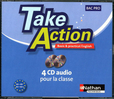 TAKE ACTION BAC PRO 4 CD AUDIO