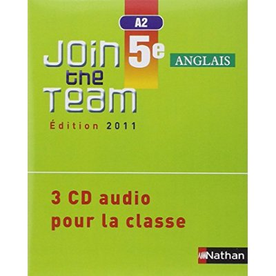 JOIN THE TEAM 5E 3 CD CLASS 11