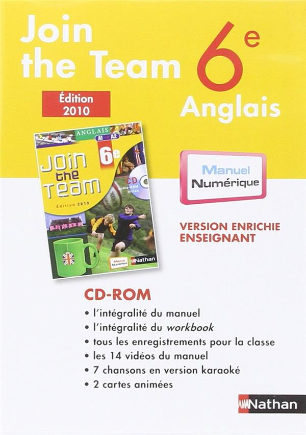 CD-ROM JOIN THE TEAM 6E MN TNA