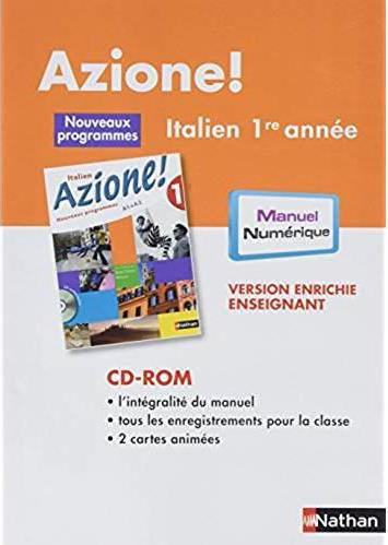 CD-ROM AZIONE NIVEAU 1 MNVP