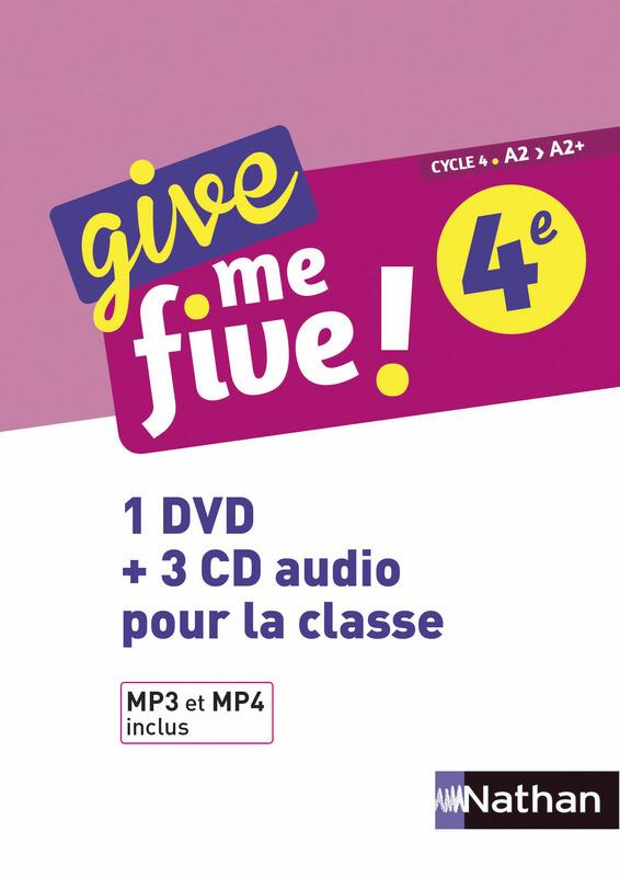 GIVE ME FIVE 4EME - COFFRET CD + DVD 2017