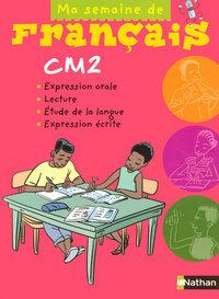 MA SEMAINE DE FRANCAIS CM2 ELE