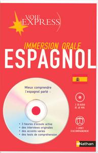 VE CD IMMERSION ORALE ESPAGNOL