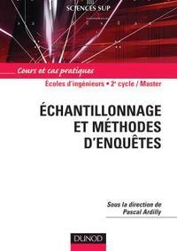 ECHANTILLONNAGE ET METHODES D'ENQUETES