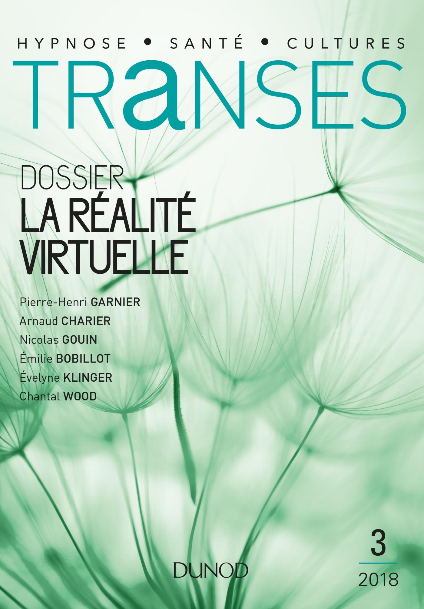 TRANSES N 3 - 2/2018 LA REALITE VIRTUELLE