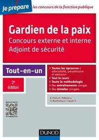 GARDIEN DE LA PAIX - ADJOINT DE SECURITE - 2E ED. - CONCOURS EXTERNE ET INTERNE