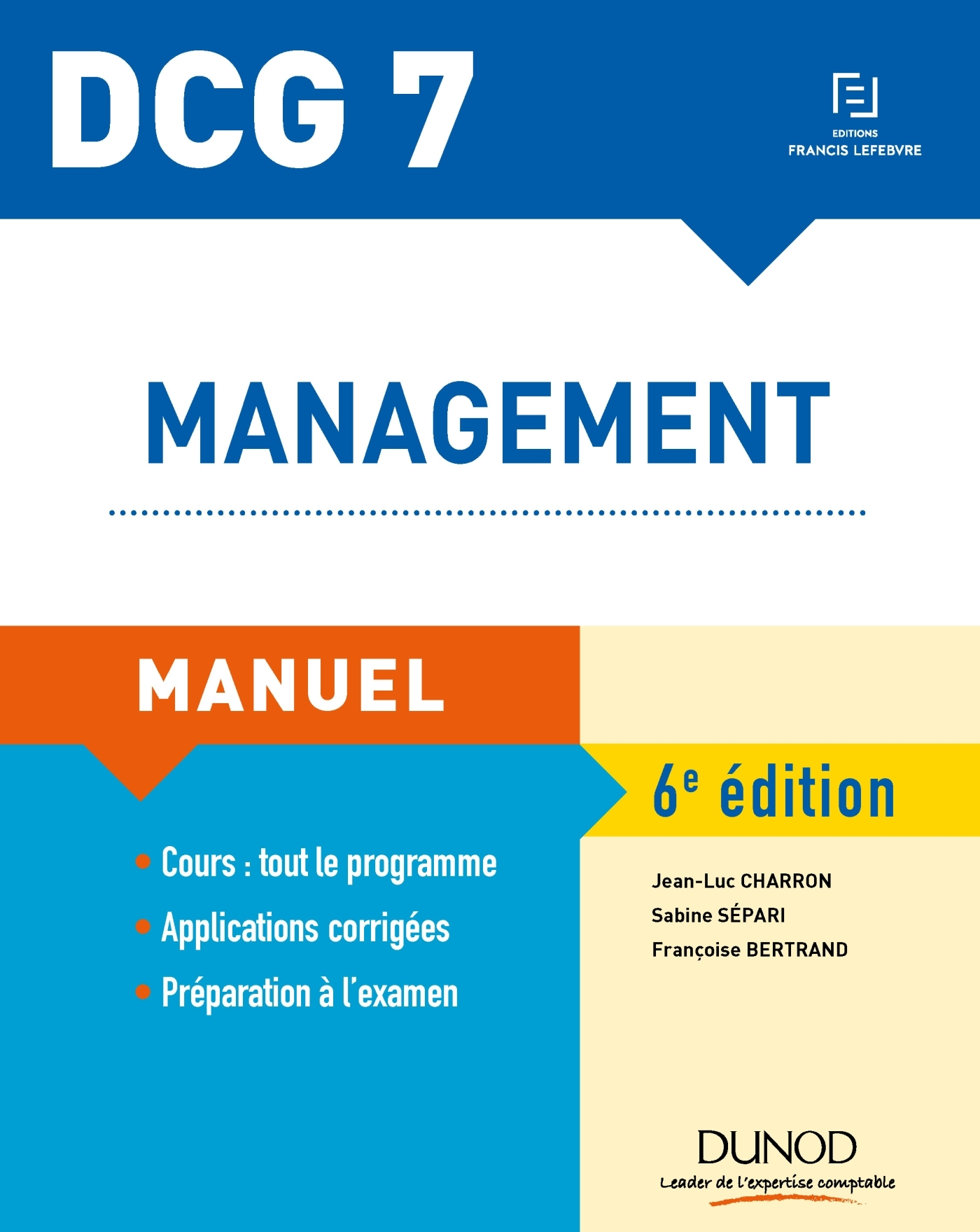 DCG 7 - MANAGEMENT - 6E ED. - MANUEL