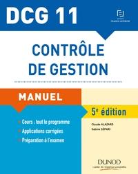 DCG 11 - CONTROLE DE GESTION - 5E ED. - MANUEL