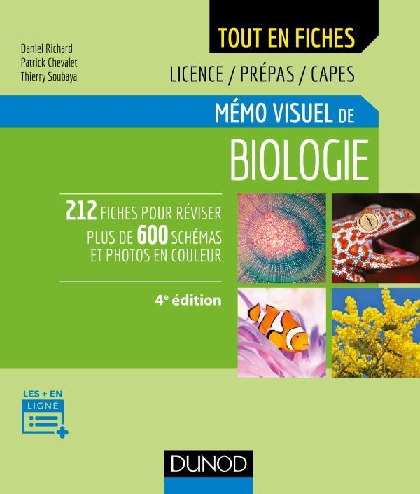 BIOLOGIE VEGETALE - 1 - MEMO VISUEL DE BIOLOGIE - 4E ED